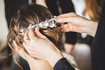 accessoire boheme cheveux