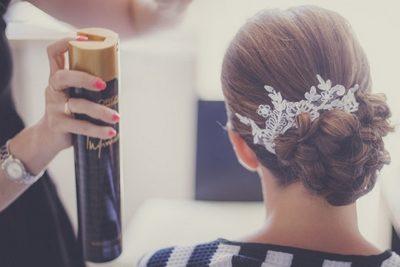 fixation coiffure mariée